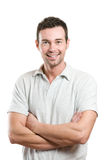 Young Casual Happy Smiling Man Royalty Free Stock Image