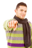 young casual man Stock Images