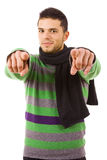 Young casual man Royalty Free Stock Image