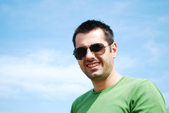 Young casual man Royalty Free Stock Photo