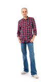 Young casual man full body Royalty Free Stock Photography