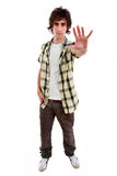 Young casual man Stock Photography