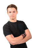 Young casual man portrait Royalty Free Stock Photos