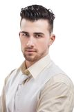 Young casual man portrait Stock Photography