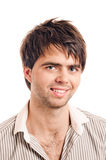 Young casual man portrait Stock Images