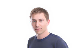 Young casual man posing Royalty Free Stock Photography