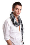 Young casual man, posing Royalty Free Stock Photography