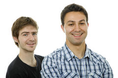 Young casual men Royalty Free Stock Image