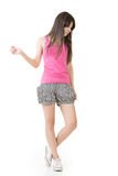 Young casual pretty asian woman Royalty Free Stock Images