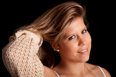 Young casual woman portrait Royalty Free Stock Photography