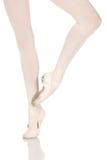 Young caucasian ballerina Stock Images