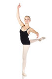 Young caucasian ballerina Royalty Free Stock Photo