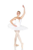 Young caucasian ballerina Stock Images