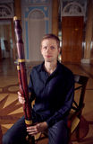 Young Caucasian Bassoon Musician Royalty Free Stock Photo