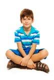 Young Caucasian boy Stock Photo