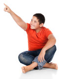Young caucasian boy Stock Photography