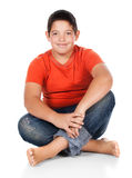 Young caucasian boy Stock Image