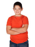 Young caucasian boy Royalty Free Stock Photography