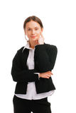 Young caucasian business woman Royalty Free Stock Photo