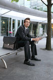 Young caucasian businessman Royalty Free Stock Image