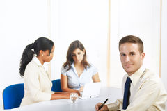 Young Caucasian businessman Royalty Free Stock Photo