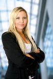 Young caucasian businesswoman Royalty Free Stock Photos