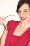 Young caucasian businesswoman Stock Photo