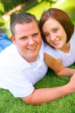 Young Caucasian Couple Royalty Free Stock Images
