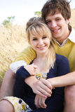 Young caucasian couple in love Royalty Free Stock Images