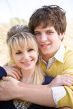 Young caucasian couple in love Royalty Free Stock Photography