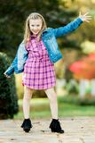 Young Caucasian Girl stock photography