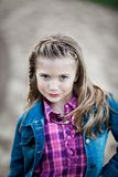 Young Caucasian Girl royalty free stock image