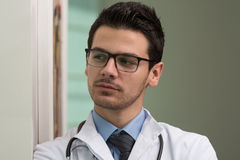 Young Caucasian Health Care Professional Royalty Free Stock Images