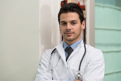 Young Caucasian Health Care Professional Stock Images