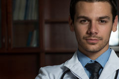 Young Caucasian Health Care Professional Royalty Free Stock Photo
