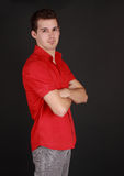 Young caucasian man Stock Photo