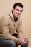 Young caucasian man Stock Images