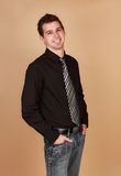 Young caucasian man Royalty Free Stock Photography
