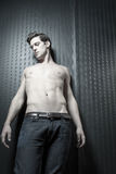 Young Caucasian Man With Athletic Body Royalty Free Stock Photography