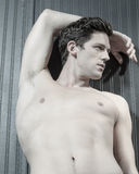 Young Caucasian Man With Athletic Body Stock Images