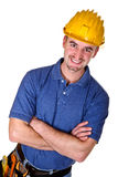 Young caucasian man tool 03 Royalty Free Stock Image