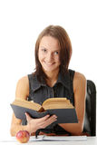 Young caucasian student Stock Image