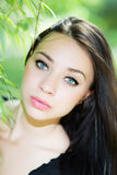 Young caucasian woman Royalty Free Stock Photo