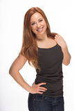 Young Caucasian woman Stock Photography