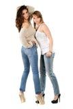 Young caucasian women Stock Photos
