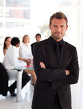 Young Charming businessman Stock Photo