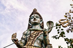 Young and charming version of Lord Shiva Stock Photography