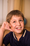 Young cheerful boy Royalty Free Stock Photo
