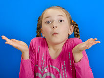 Young cheerful girl Royalty Free Stock Photography