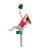 Young cheerleader Stock Photos